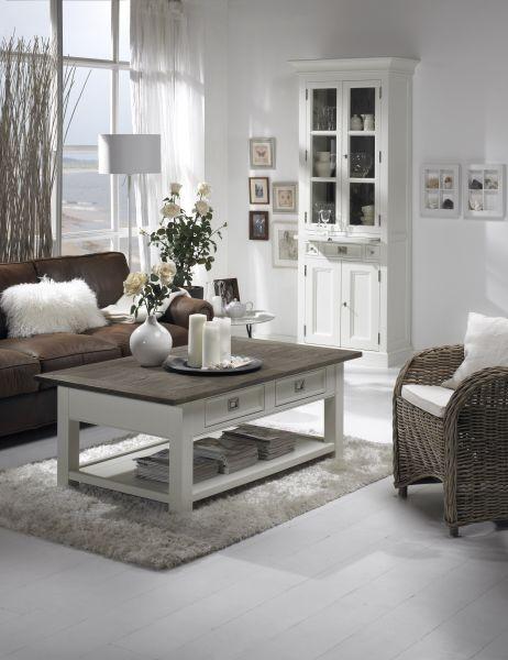 sofabord sort højglans