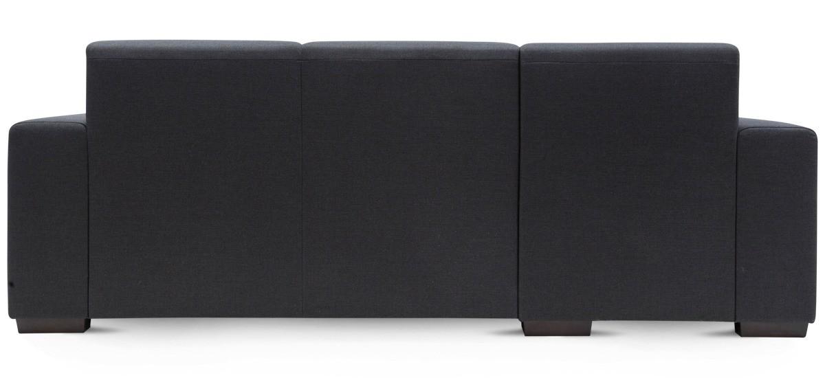 Cambridge 2 personers Vintage sofa i sort Læder