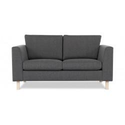 Lynge 2 pers. sofa - Koksgrå