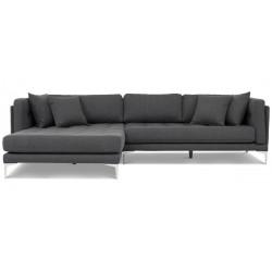 Vision chais. sofa venstrevendt - Koksgrå Inari 96