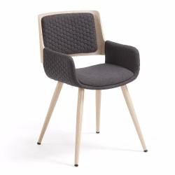 Belina spisebordsstol - Koksgrå