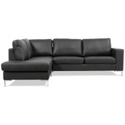 Harmony Openend sofa venstrevendt - Sort Bizon 07