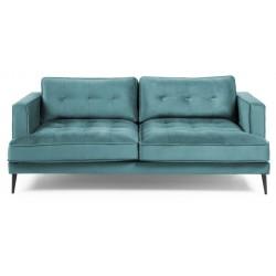 Asprilla 3 pers. sofa - Turkis velour