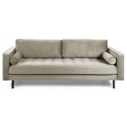 Latina 2 pers. sofa - Beige velour