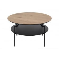 Basel sofabord - Eg/Sort