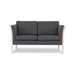 Dragør 2 pers. sofa - Koksgrå Boss 12