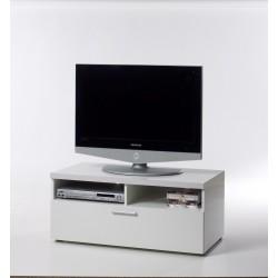 Chase tv-bord smalt - Hvid