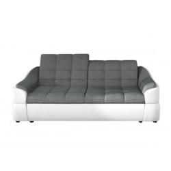 infinity 2 pers. sofa grå / Hvid