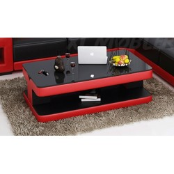 Vanta Deluxe sofabord Sort og rød