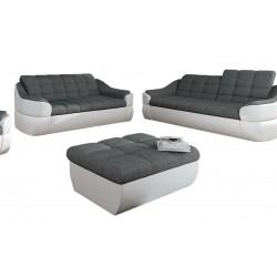 Infinity sofasæt 2+3 pers grå / Hvid
