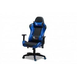 Rally Gamerstol sort og blå