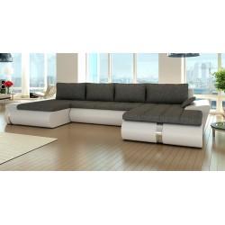 Fado U sofa med dobbelt chaiselong 02 Højrevendt