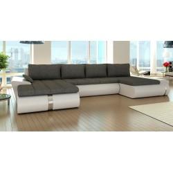 Fado U sofa med dobbelt chaiselong 02 Venstrevendt