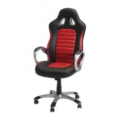 Arozzi Gaming stol sort og Rød