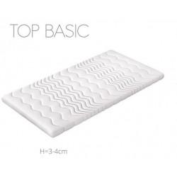 BASIC TOPMADRAS 140x200 cm med Komfortskum