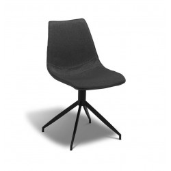 Isabel Spisebordsstol mørkegrå