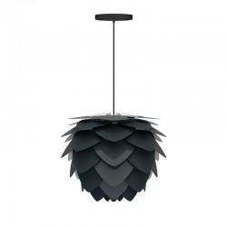 Umage Aluvia Lampeskærm Antracitgrå Ø59 X 48cm Medium med sort ophæng