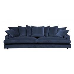 Fabriano 3 pers velour sofa