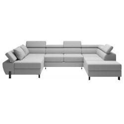 Molina U sofa venstrevendt Alfa 17 stof