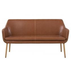 Malin sofabænk - Vintage/Cognac