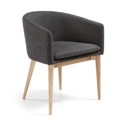 Alisson spisebordsstol Grå