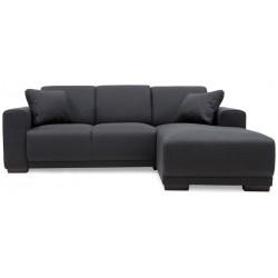 Bornholm chais.sofa højrevendt - Koksgrå Inari 95
